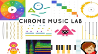 Chrome Music Lab. A fun interactive way to learn about music by Google.