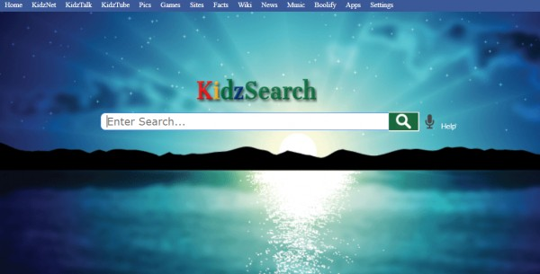 KidzSearch Screen Background